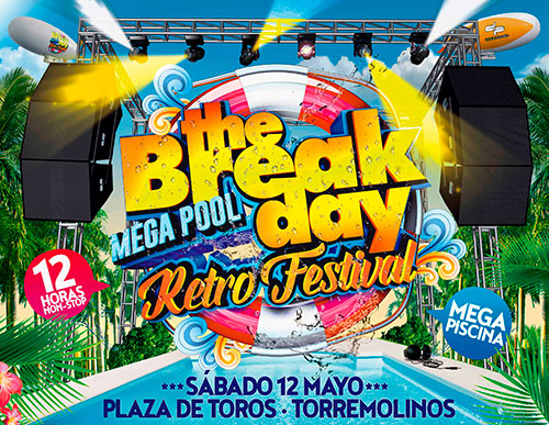 Entradas 'THE BREAK DAY 2018' - Plaza de Toros de Torremolinos (Málaga)